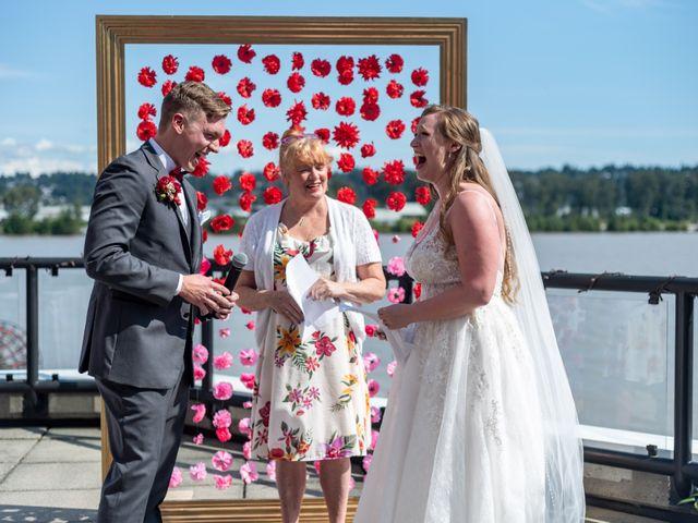 Jordan and Stephanie's wedding in New Westminster, British Columbia 32