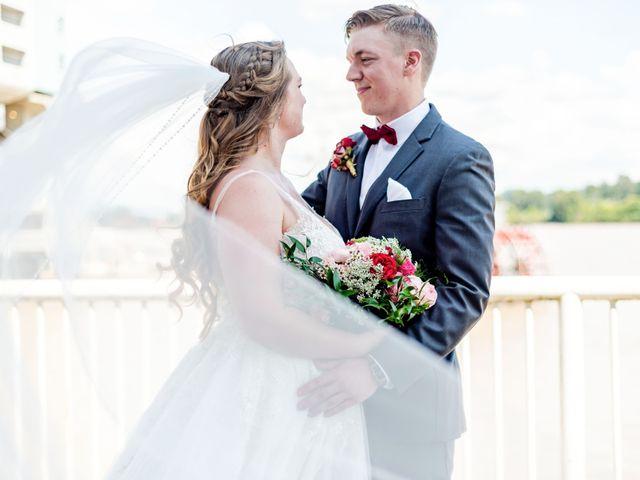 Jordan and Stephanie's wedding in New Westminster, British Columbia 1