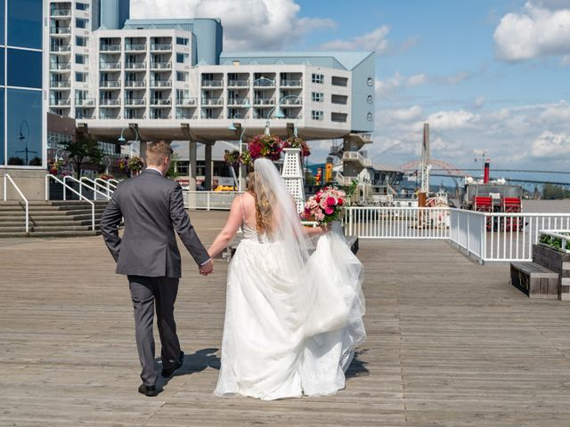 Jordan and Stephanie's wedding in New Westminster, British Columbia 40