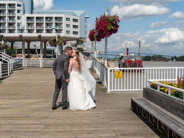Jordan and Stephanie's wedding in New Westminster, British Columbia 41