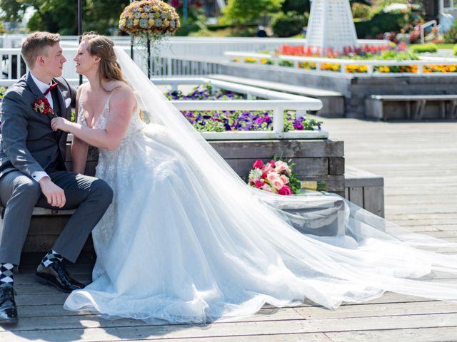 Jordan and Stephanie's wedding in New Westminster, British Columbia 46