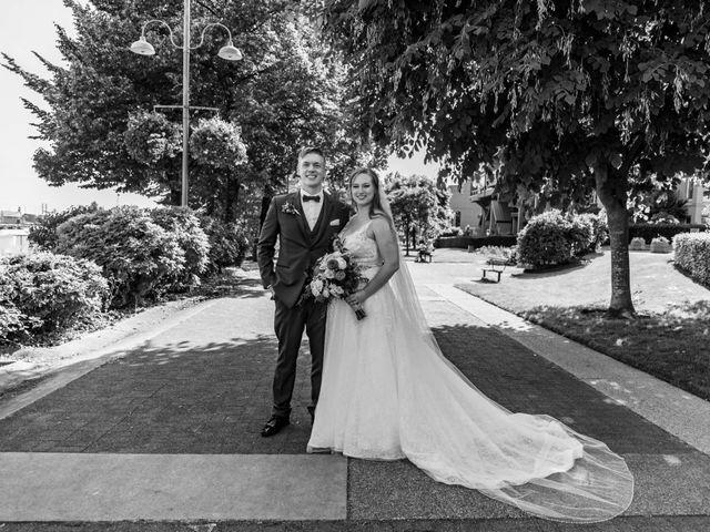 Jordan and Stephanie's wedding in New Westminster, British Columbia 2