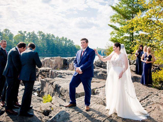 Megan and Darryl's wedding in Bala, Ontario 12