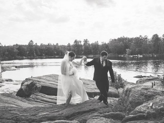 Megan and Darryl's wedding in Bala, Ontario 13