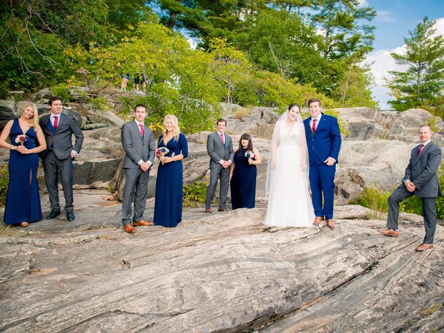 Megan and Darryl's wedding in Bala, Ontario 14