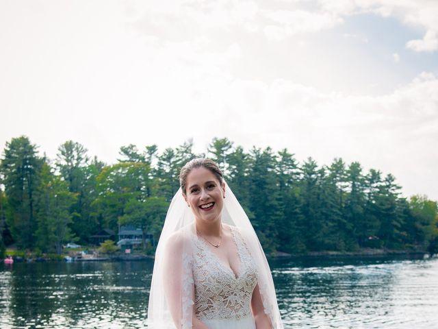 Megan and Darryl's wedding in Bala, Ontario 15