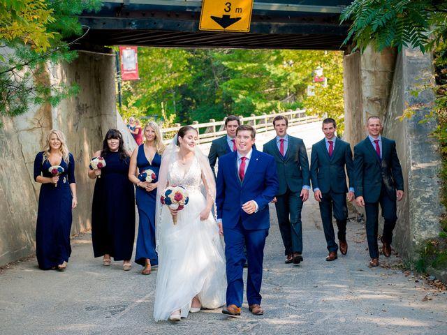 Megan and Darryl's wedding in Bala, Ontario 17