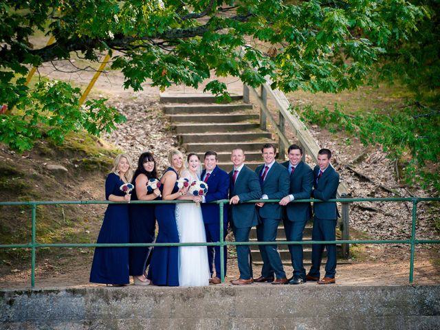 Megan and Darryl's wedding in Bala, Ontario 18