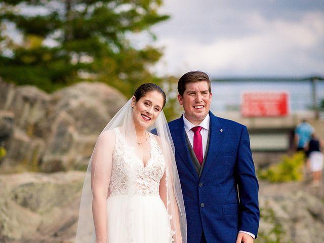 Megan and Darryl's wedding in Bala, Ontario 21