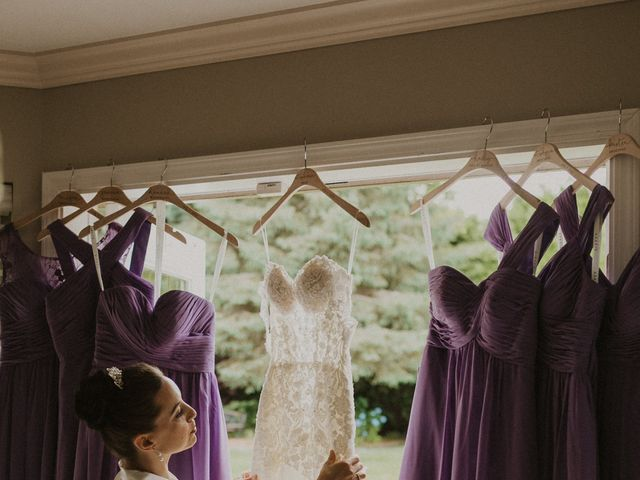 Clayton and Stephanie's wedding in Langley, British Columbia 8
