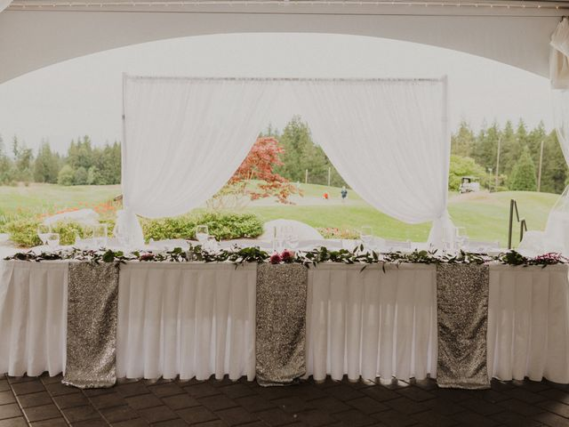 Clayton and Stephanie's wedding in Langley, British Columbia 14
