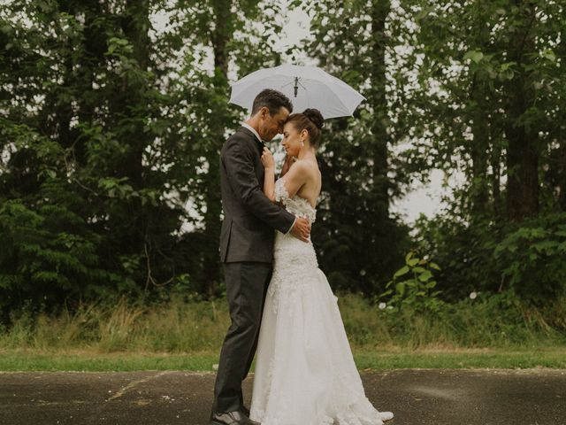 Clayton and Stephanie's wedding in Langley, British Columbia 18
