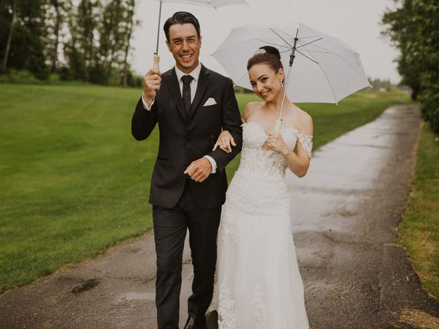 Clayton and Stephanie's wedding in Langley, British Columbia 19