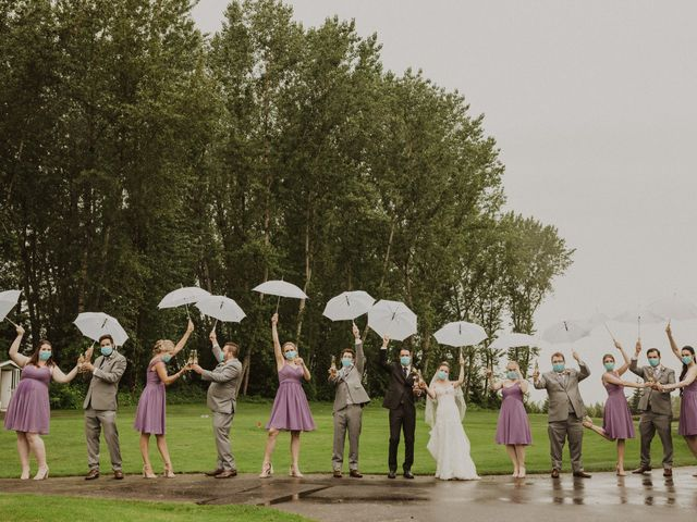 Clayton and Stephanie's wedding in Langley, British Columbia 21