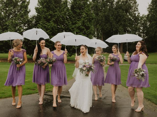 Clayton and Stephanie's wedding in Langley, British Columbia 2