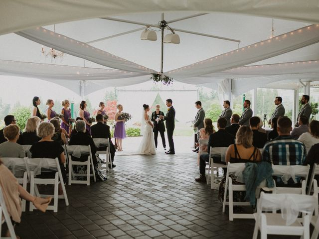 Clayton and Stephanie's wedding in Langley, British Columbia 24