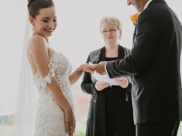 Clayton and Stephanie's wedding in Langley, British Columbia 25