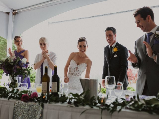 Clayton and Stephanie's wedding in Langley, British Columbia 30