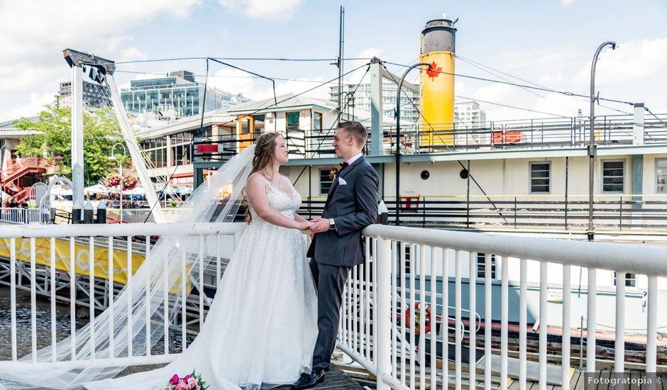 Jordan and Stephanie's wedding in New Westminster, British Columbia