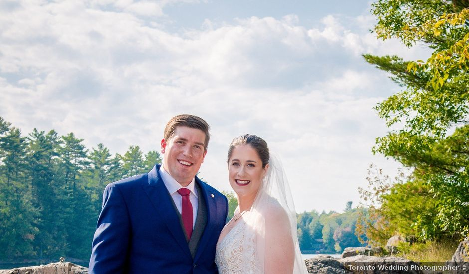 Megan and Darryl's wedding in Bala, Ontario