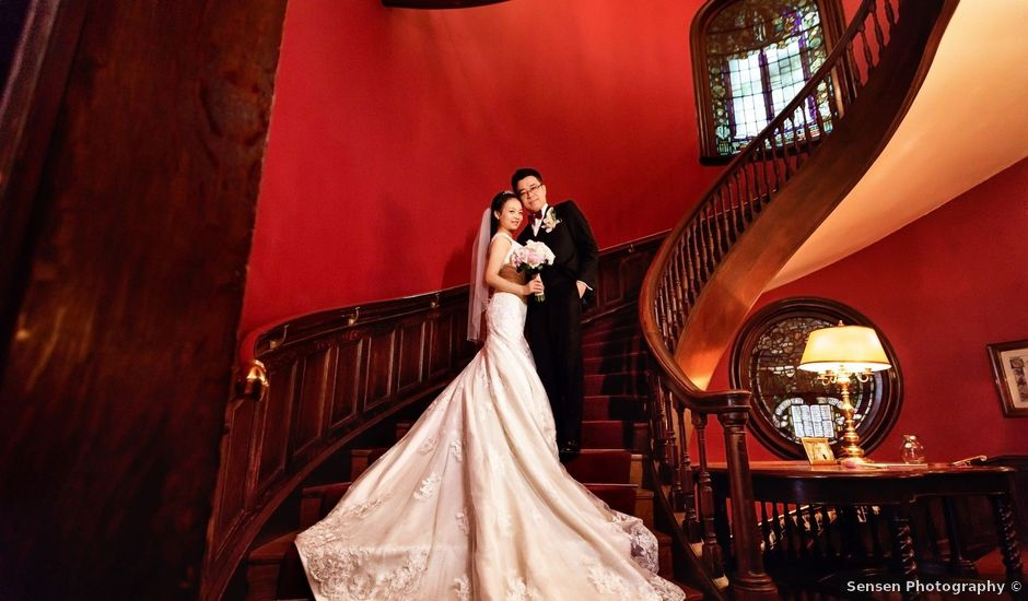 Jiang and Arc's wedding in Montreal, Quebec