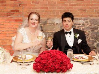 The wedding of Alexsa and Ikki