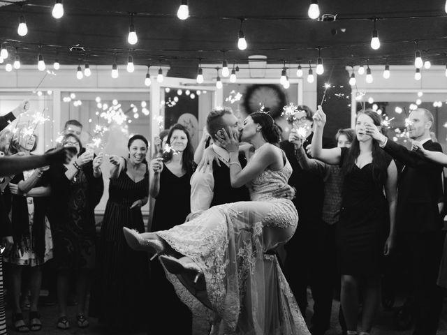 The wedding of Matt and Miranda
