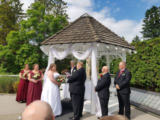 The wedding of Elaine and Richard