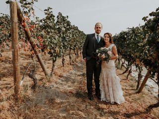 The wedding of Megan and Dan