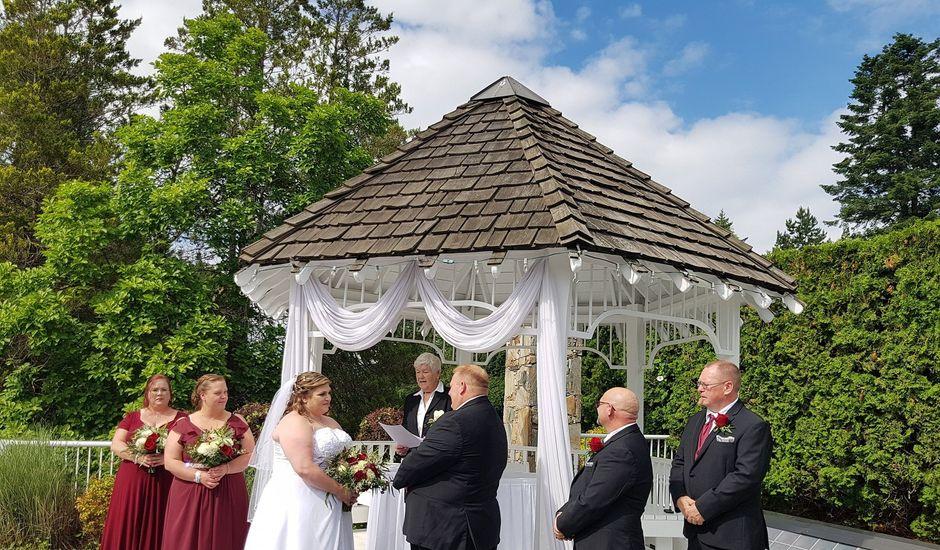 Richard and Elaine's wedding in Langley, British Columbia