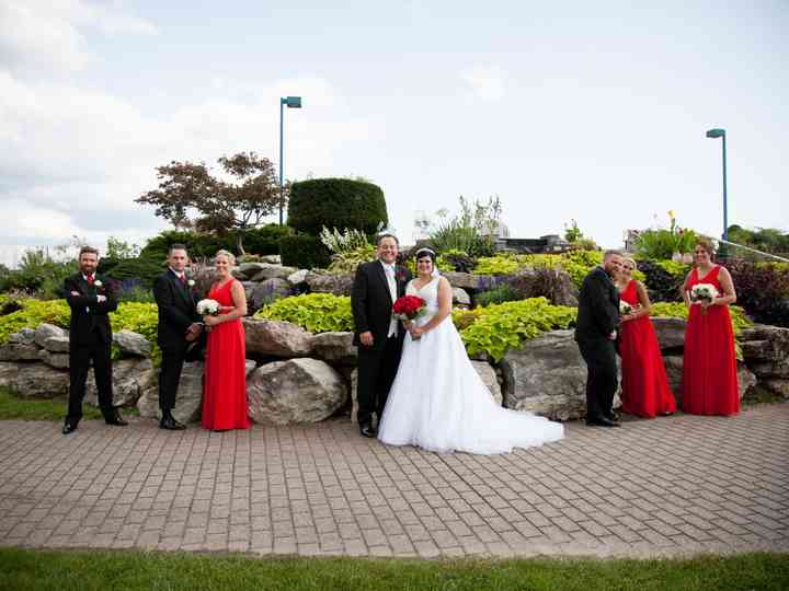 The wedding of Brandalee and Mark