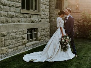 The wedding of Ulana and Jerad