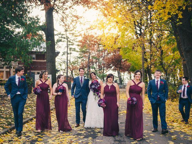Tori and Carson's wedding in Hamilton, Ontario 9