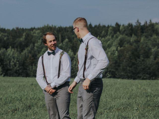 Chris and Heidi's wedding in Hopewell, Nova Scotia 113