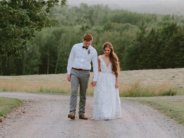 Chris and Heidi's wedding in Hopewell, Nova Scotia 19