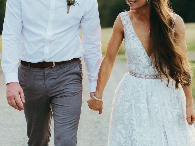 Chris and Heidi's wedding in Hopewell, Nova Scotia 14