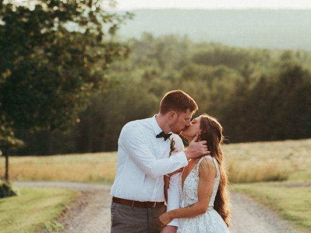 Chris and Heidi's wedding in Hopewell, Nova Scotia 12