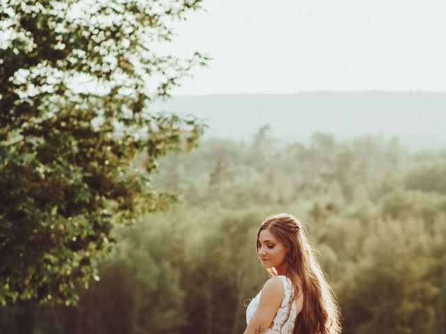 Chris and Heidi's wedding in Hopewell, Nova Scotia 3