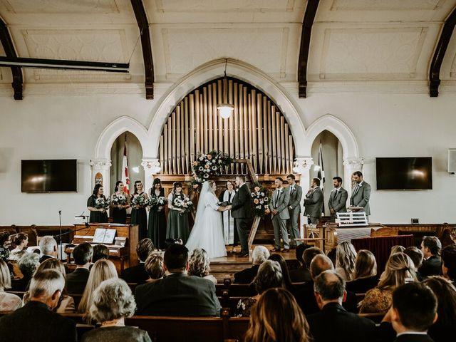 Tim and Sidney's wedding in Halton Hills, Ontario 1