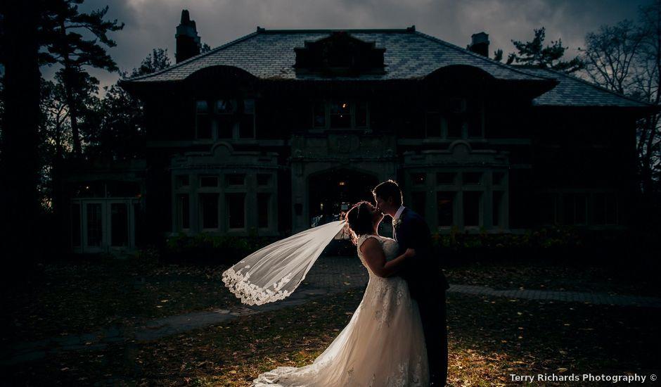 Tori and Carson's wedding in Hamilton, Ontario