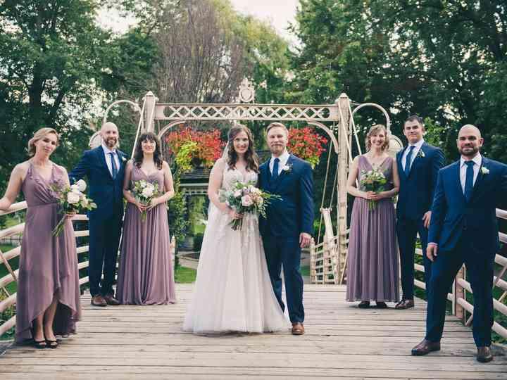 The wedding of Jessica and Trevor