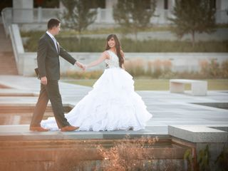 The wedding of Krisha and Bryce