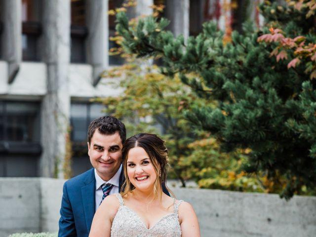 Scott and Stephanie's wedding in Burnaby, British Columbia 6