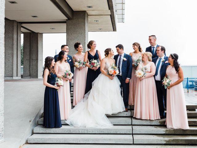 Scott and Stephanie's wedding in Burnaby, British Columbia 1
