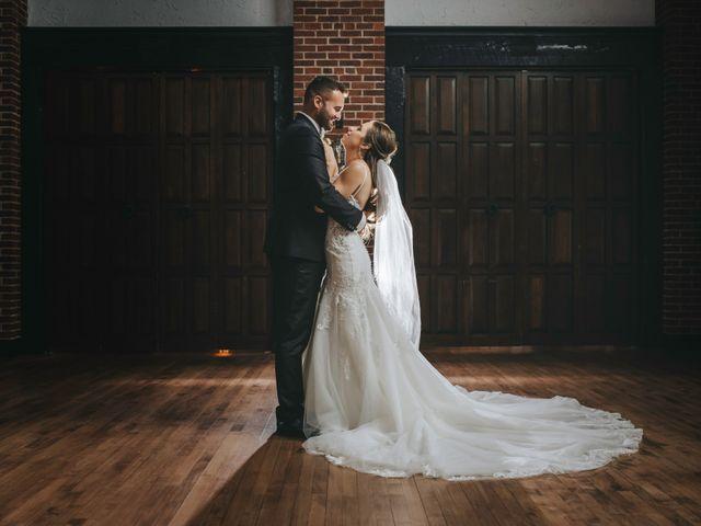The wedding of Melissa and Valon