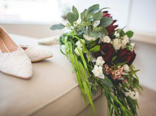 The wedding of Ernestine and Edmond 1