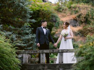 The wedding of Amanda and Bosco