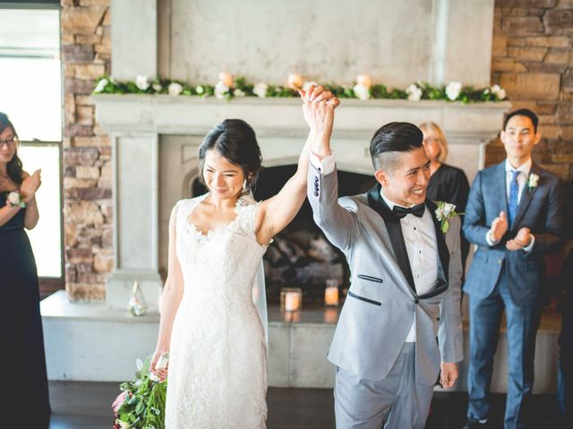 The wedding of Ernestine and Edmond