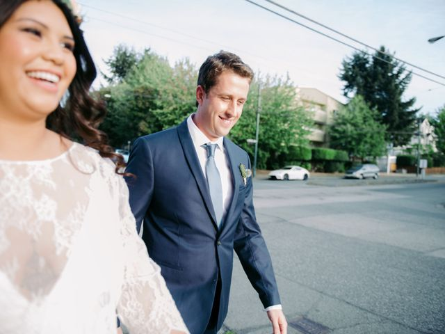 Andy and Danielle's wedding in Vancouver, British Columbia 12