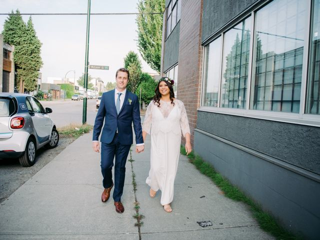 Andy and Danielle's wedding in Vancouver, British Columbia 21